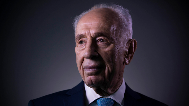 Late President Shimon Peres. 'Yes, he was controversial. Yes, he did change his opinions. Yes, he was a politician and not just a statesman. But he seemed to have had so many virtues' (Photo: AP)