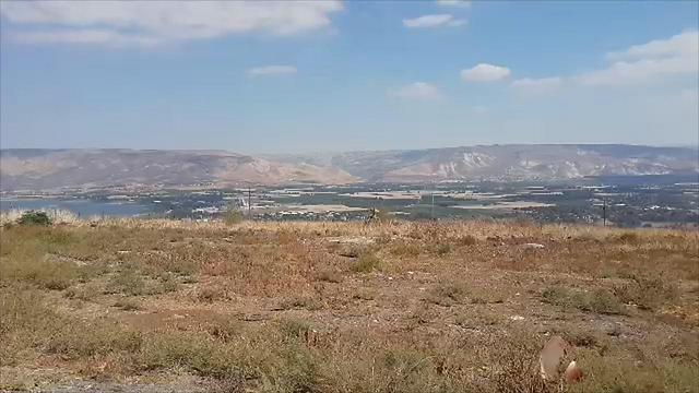 Alumot, where Peres worked as a shepherd (Photo: Ahiya Raved)