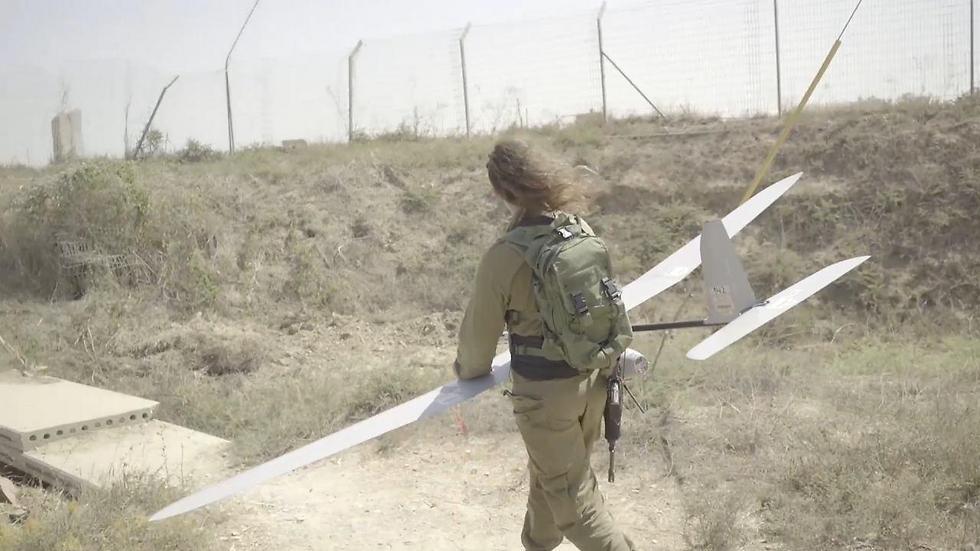 Skylark fighters in the field (Photo: IDF Spokesman's Office)