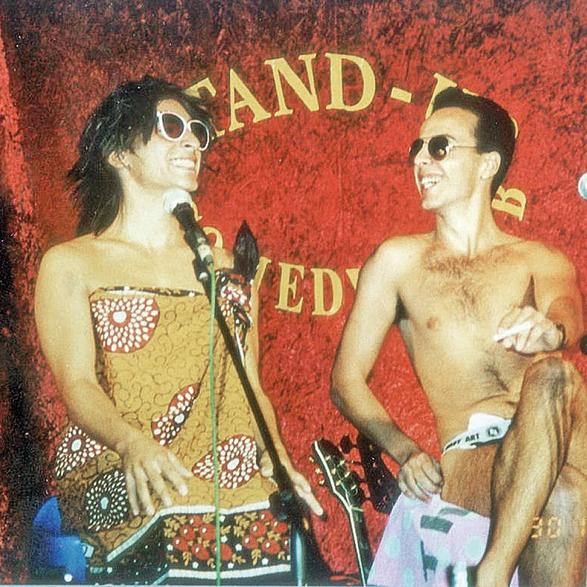 אלי ומריאנו בשנות ה-90. משתדלים לעסוק בשאלה מה יצחיק את הקהל ולא מה ירגיז אותו