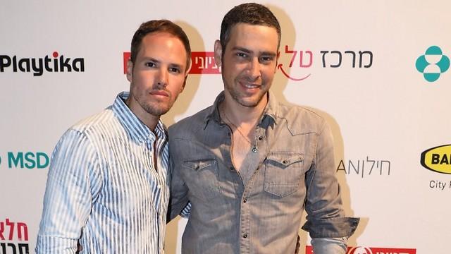 אמיר פרישר גוטמן (מימין) (צילום: רפי דלויה) (צילום: רפי דלויה)