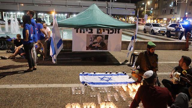 וגם בכיכר רבין בתל אביב (צילום: מוטי קמחי)
