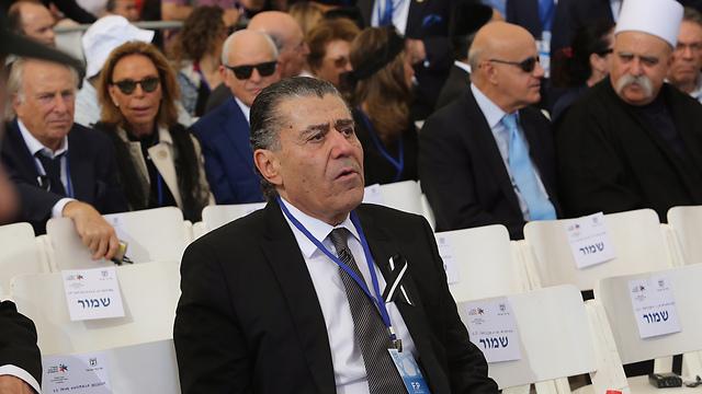Israeli-American media proprietor Haim Saban (Photo: Gil Yohanan)