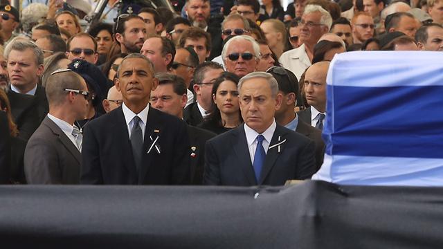 US President Obama and Prime Minister Netanyahu (Photo: Gil Yohanan)