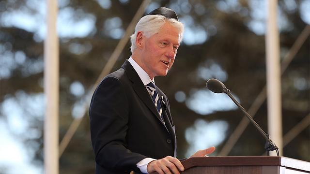 Former US President Bill Clinton (Photo: Gil Yohanan) (Photo: Gil Yohanan)