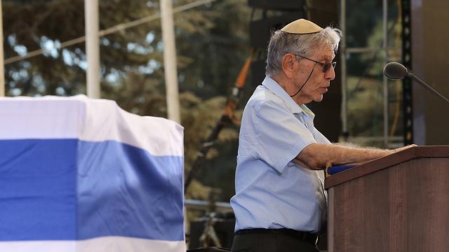 Author Amos Oz (Photo: Gil Yohanan)