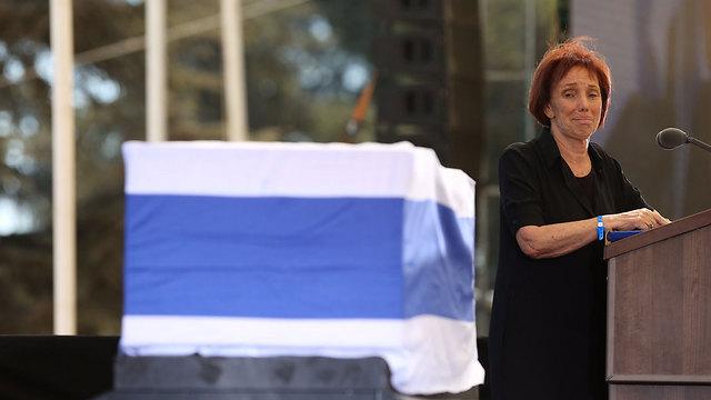 Peres's daughter, Dr. Tsvia Walden (Photo: Gil Yohanan)
