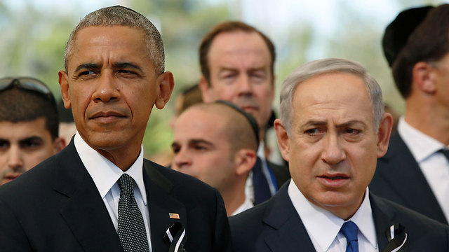 US President Obama and Prime Minister Netanyahu (Photo: AP) (Photo: AP)