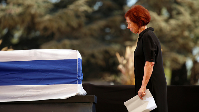 Peres's daughter, Dr. Tsvia Walden (Photo: Reuters)