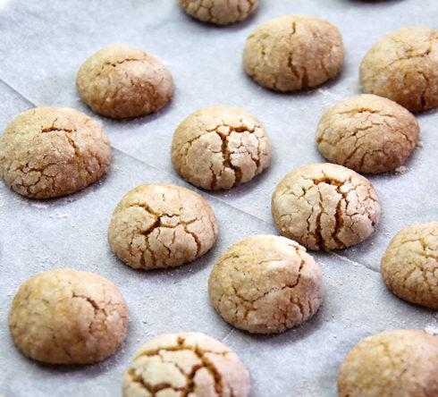 עוגיות דבש וטחינה (צילום: דפנה אוסטר מיכאל)