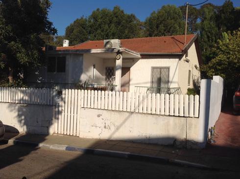 הבית הישן, לפני השיפוץ (באדיבות טל בק)