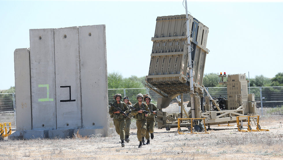 An Iron Dome battery. (Photo: Gadi Kabalo)