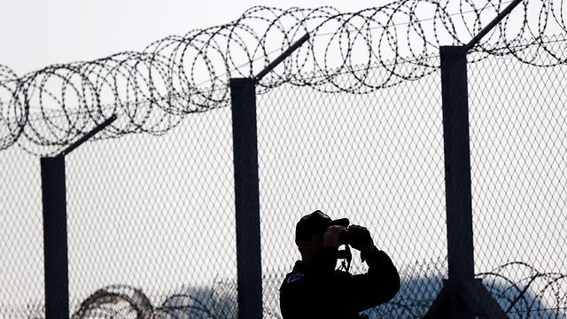 גדר בגבול הונגריה (צילום: רויטרס) (צילום: רויטרס)