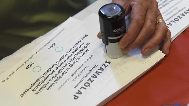 כן או לא? מצביעים על עתיד המהגרים (צילום: EPA) (צילום: EPA)