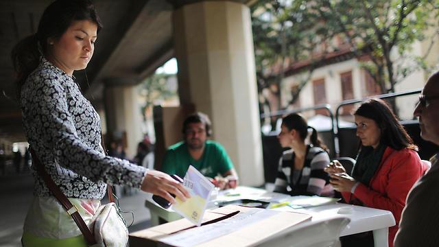 משאל העם (צילום: getty) (צילום: getty)