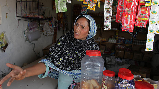 Fauzia Javed said that she knew too well the double standards of her society. 'My husband is having an affair and he left me with four kids to support and no one is killing him. Why?' (Photo: AP)