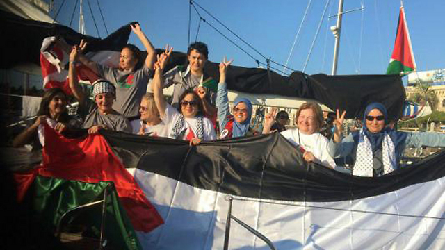 The 15 participants of the flotilla