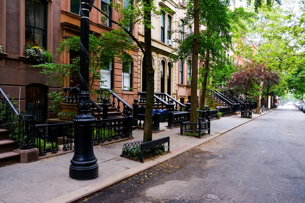 שכונת צ'לסי במנהטן שבה ממוקמת הדירה (צילום: Shutterstock) (צילום: Shutterstock)