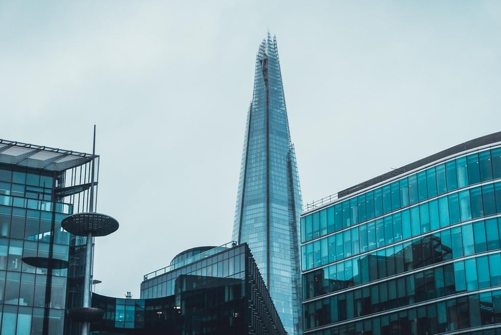 מגדל השארד הגבוה ביותר בבירה הבריטית (צילום: Shutterstock) (צילום: Shutterstock)