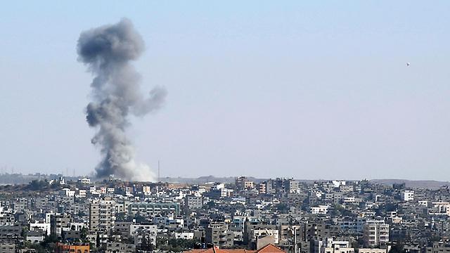 Gaza airstrikes (Photo: AP) (Photo: AP)