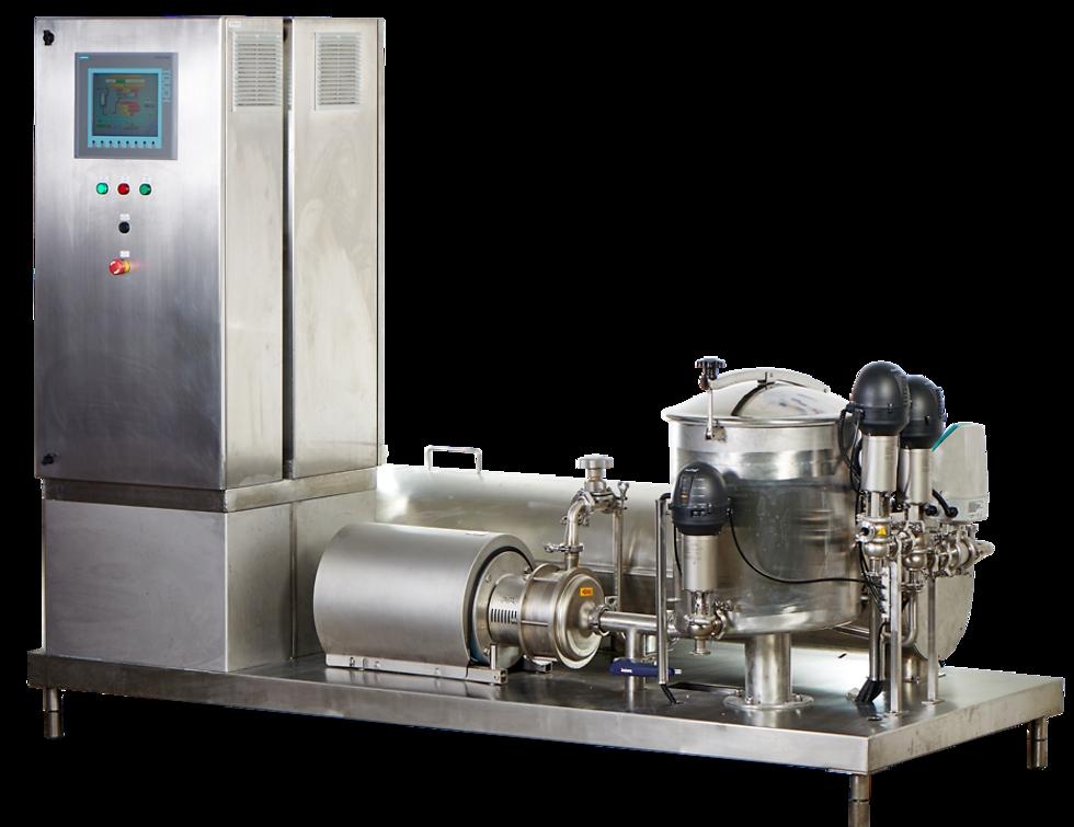 AseptoRay's pasteurization machine