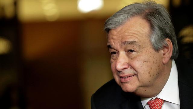 Antonio Guterres (PhotoL: AFP)