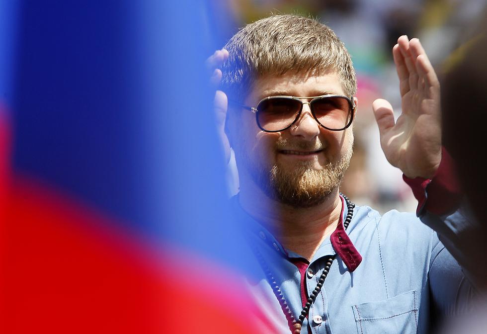 """נשיא צ'צ'ניה, רמזן קדירוב. """"עשרות הומואים נעצרו, לפחות שלושה נרצחו"""" (צילום: getty images) (צילום: getty images)"""
