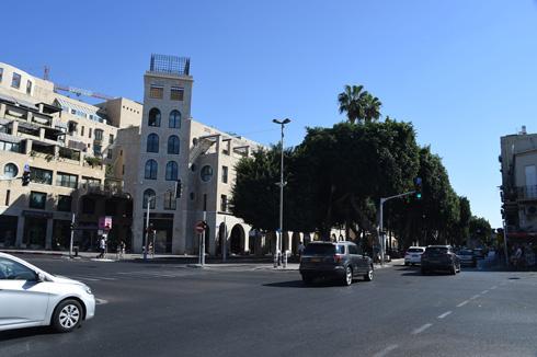 האם השדרה המפוארת תיכחד? שדרות ירושלים עומדת בפני איום הרכבת הקלה (צילום: יאיר שגיא)