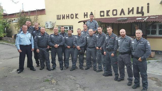 This year's 15 Israel Policemen