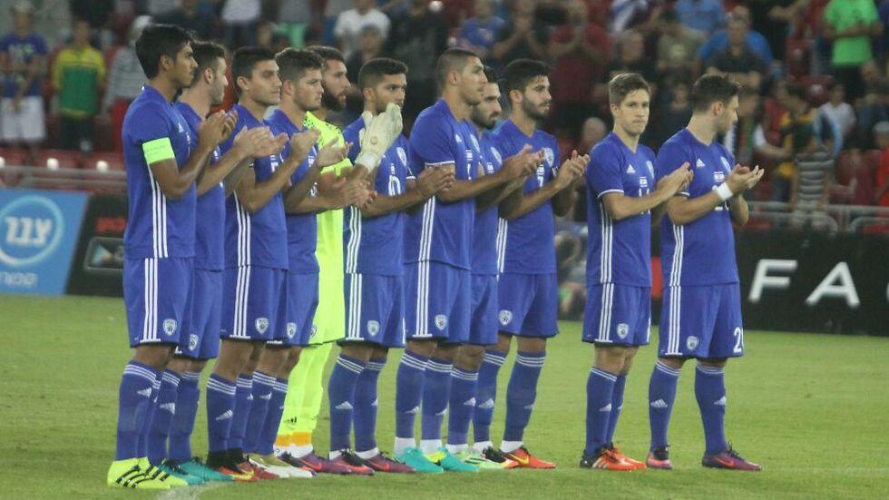 שחקני הנבחרת הצעירה (צילום: שי מוגילבסקי) (צילום: שי מוגילבסקי)