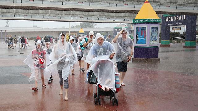 דיסניוורלד סגור (צילום: AFP)