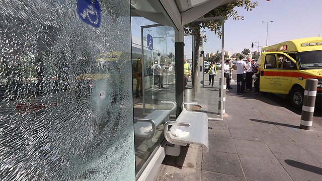 The ones who are guilty of terror are those who carry out acts of terror, those who incite to these acts and those who support them. Scene of last week's deadly attack in Jerusalem (Photo: Gil Yohanan)