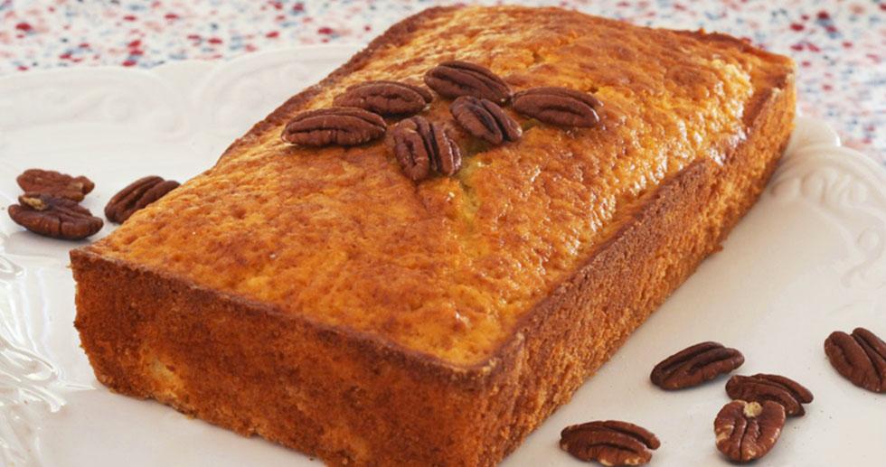 עוגת תפוזים ופקאנים (צילום: אבירם פלג)