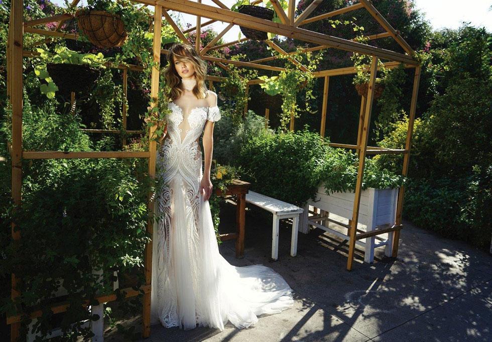 קולקציית שמלות הכלה של שלומית אזרד (צילום: אלון שפרנסקי)