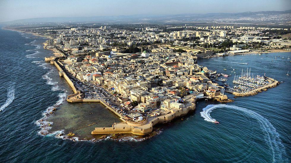 עכו, מתוך מאגר התמונות של ויקיפדיה (צילום: יגאל דקל) (צילום: יגאל דקל)