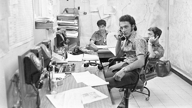 Faces behind the operation (Photo: IDF Defense Ministry Archive)