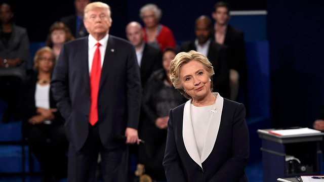 Clinton and Trum,p in 2016 - an elegant campaign against a wild man (Photo: Reuters)