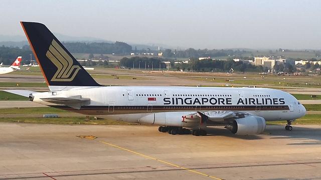 סינגפור איירליינס (צילום: עמית קוטלר)