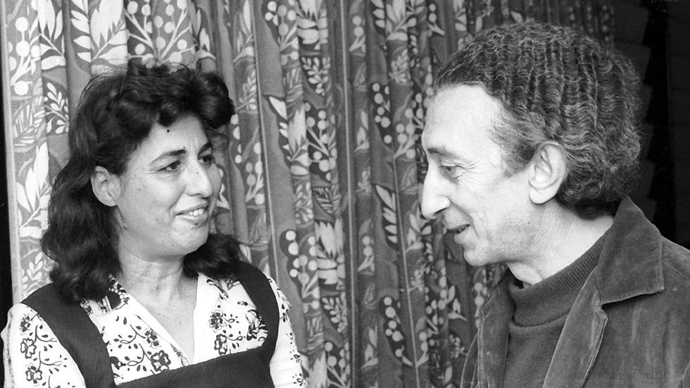 גאולה כהן ואבא קובנר. נובמבר 1968 (צילום: דן הדני, מתוך אוסף IPPA, הספרייה הלאומית) (צילום: דן הדני, מתוך אוסף IPPA, הספרייה הלאומית)