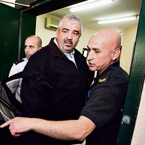 27.12.15 | נכנס לכלא | צילום: גיל נחושתן