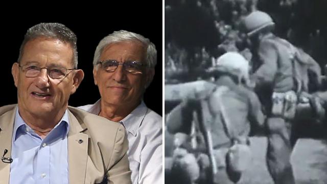 המלחמה הקשה בחזית מצרים, והמפגש המרגש 43 שנים אחרי (צילום: אלי סגל) (צילום: אלי סגל)