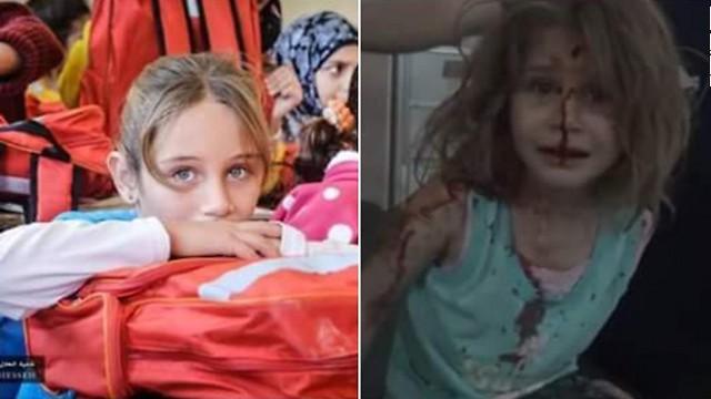התמונה הוויראלית - איה לפני ואחרי ההפצצה ()