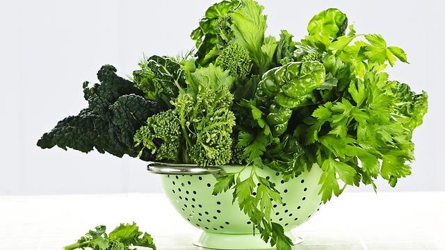 עשירים בוויטמינים ומינרלים. ירקות ירוקים (צילום: shutterstock)