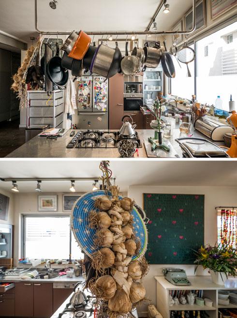"""""""מטבח עם מרחב עבודה גדול, כי אני מאוד אוהבת לבשל"""" (צילום: איתי סיקולסקי)"""