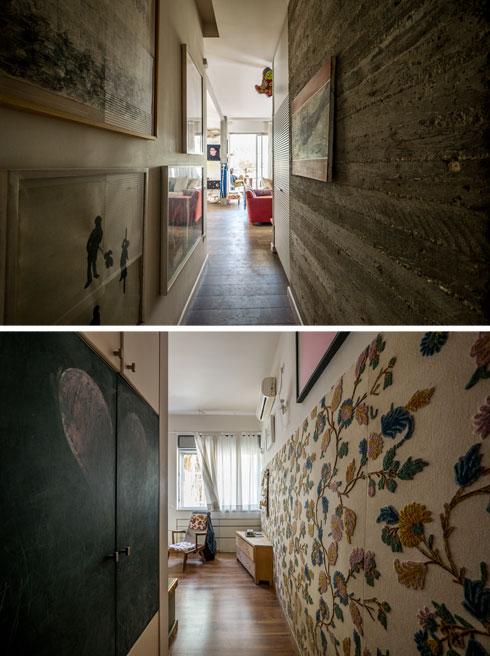 """""""כשרכשתי את הנכס היתה זאת דירת שני חדרים בחצי מהגודל של הדירה כיום"""" (צילום: איתי סיקולסקי)"""