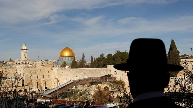 The Temple Mount and surrounding areas, including the Western Wall (Photo: Reuters) (Photo: Reuters)