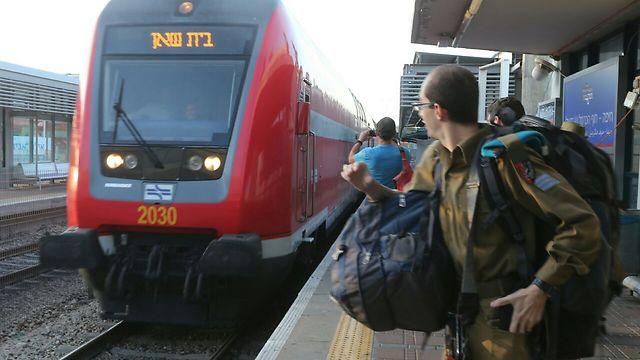 The new Valley Train. (Photo: Gil Nechushtan)
