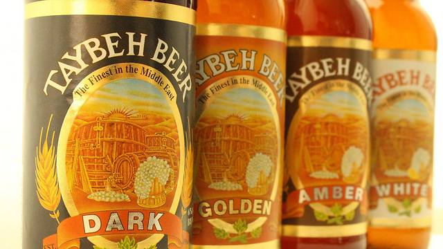 (Photo: Taybeh Beer)