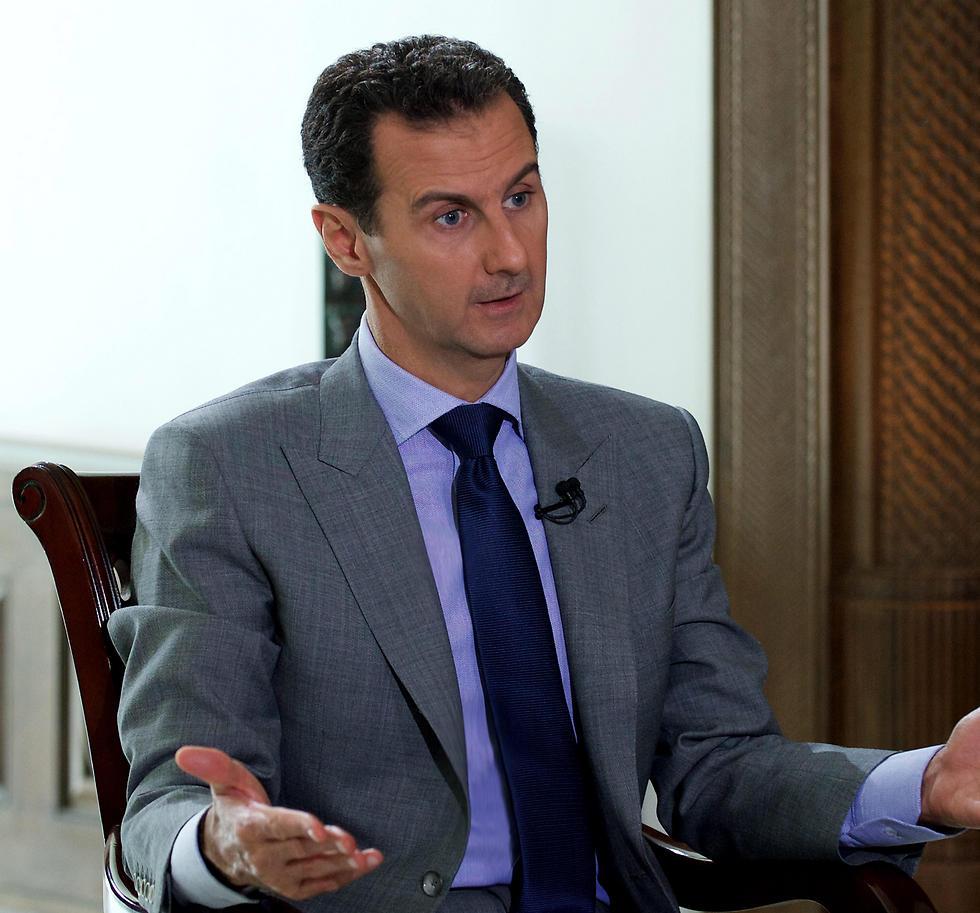 אחרי המערכה על חלב רוצה להשיג לעצמו את השליטה על סוריה כולה. אסד (צילום: EPA)