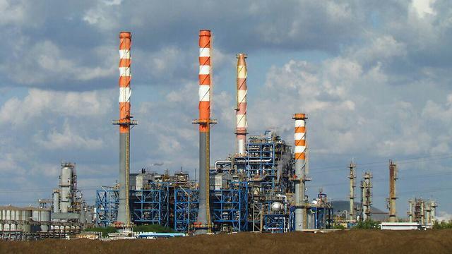 """מפעל כרמל אולפינים של בז""""ן (צילום: אילן מלסטר, המשרד להגנת הסביבה) (צילום: אילן מלסטר, המשרד להגנת הסביבה)"""